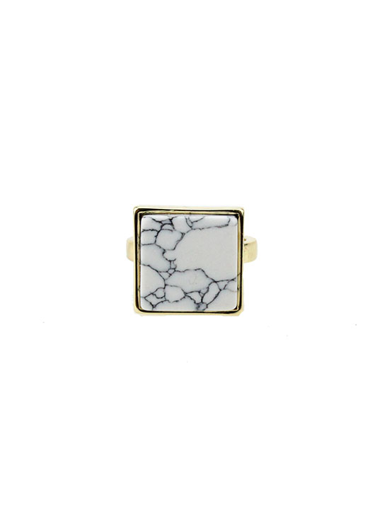 Marble-Square-Ring