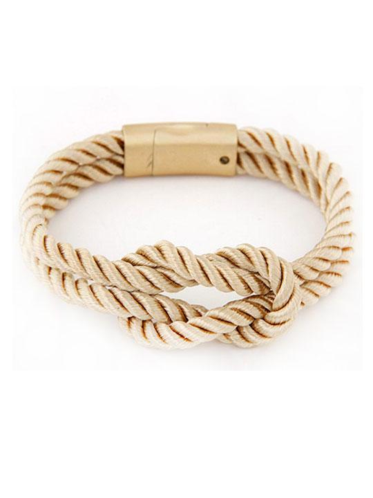 modern rope bracelet