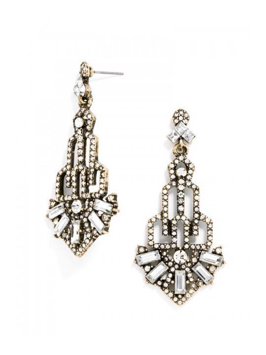 new art deco earrings