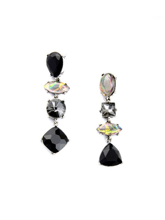art stone earrings