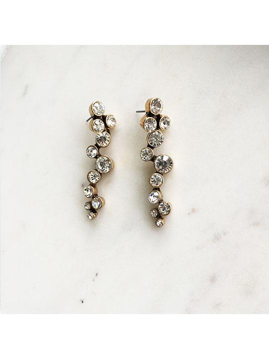 mod statement earrings