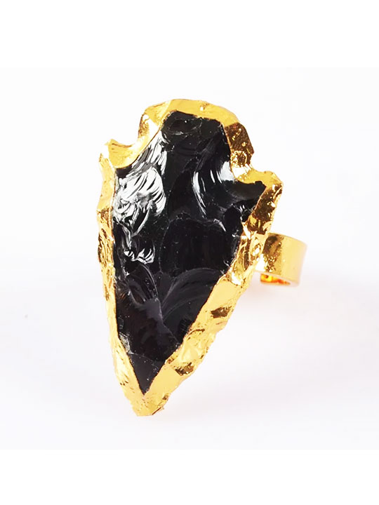 arrowhead-black-stone-ring
