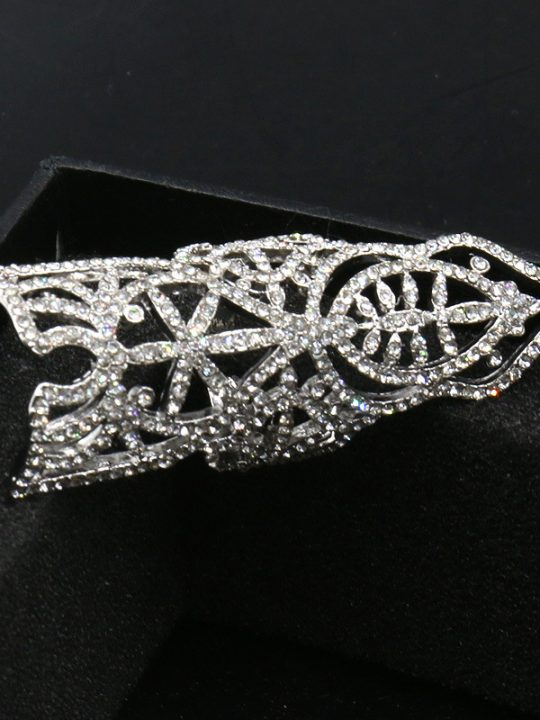 large crystal statement ring