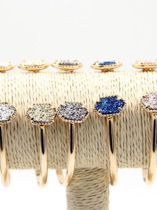 titanium druzy bracelet 2
