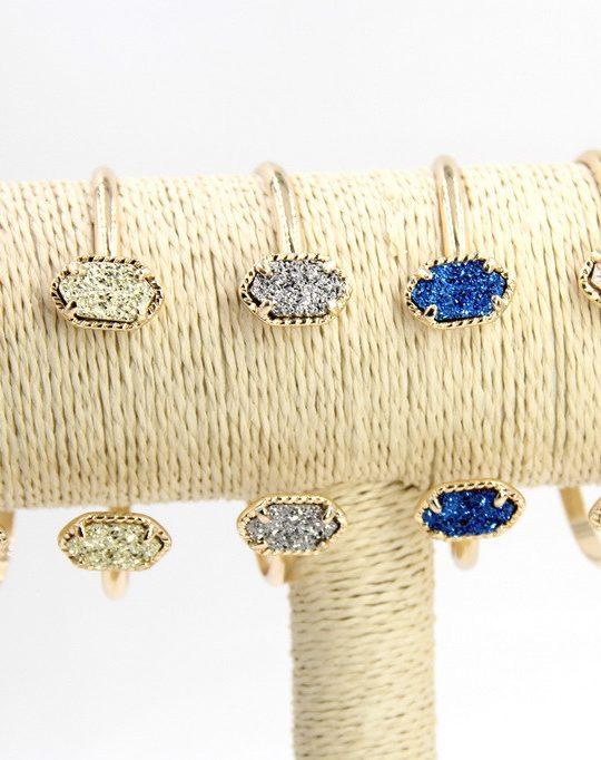 titanium druzy bracelet 3