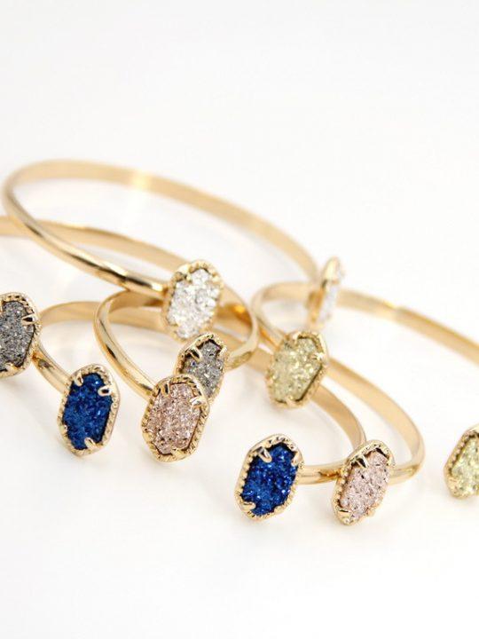 titanium druzy bracelet 4