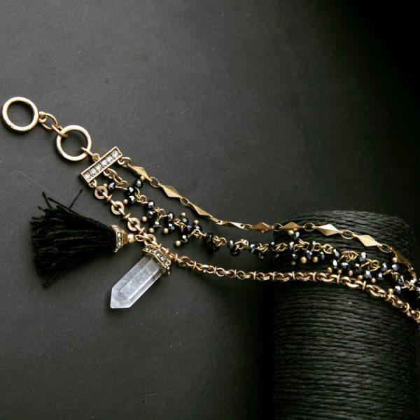 voyage natural stone bracelet