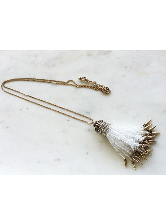 regency tassel necklace