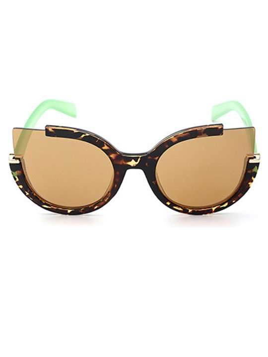 tortoise modern sunglasses
