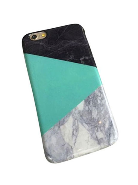 mint green marble iphone 6 case
