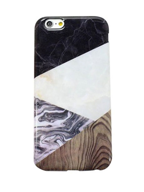 wood marble iphone 6 cover