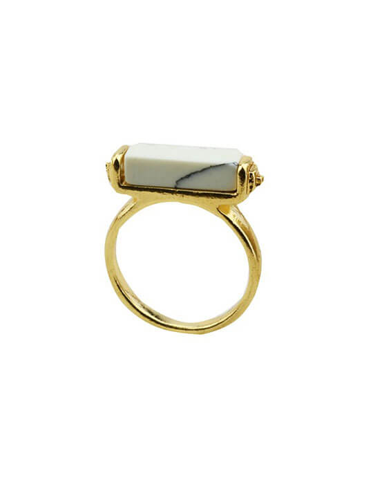 marble bar ring