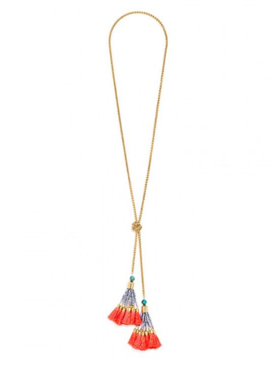 tassel modern necklace