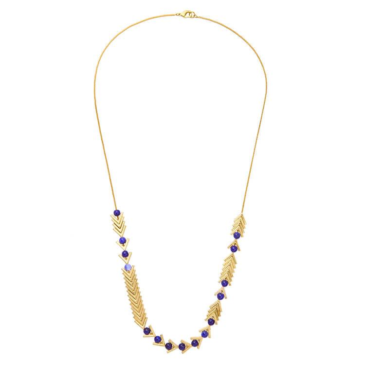 blue lapis necklace gift
