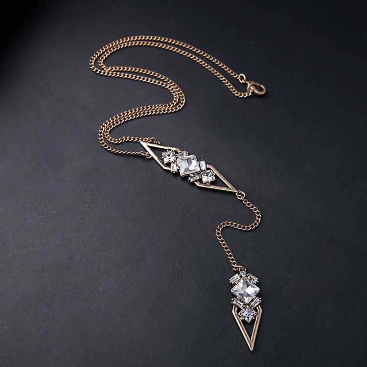 crystal stone - necklace for women