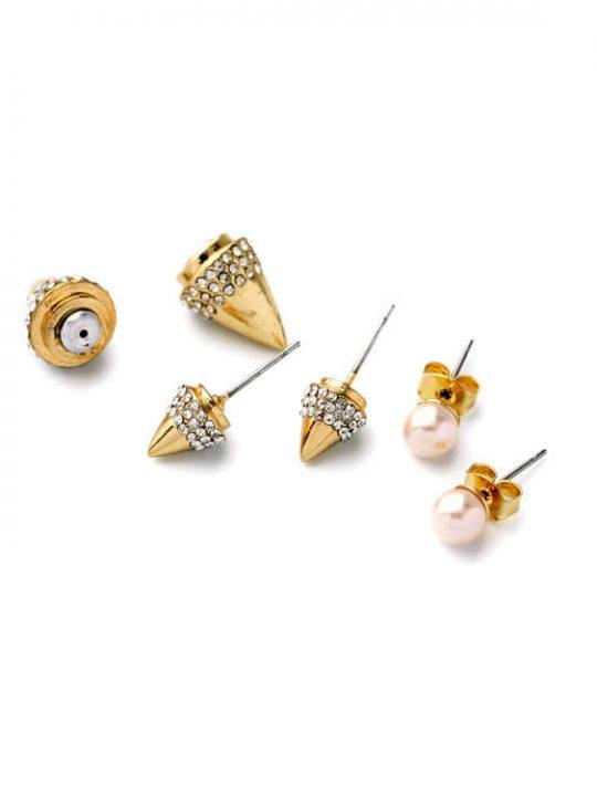 rivet jacket earrings stylish gift for her birthday