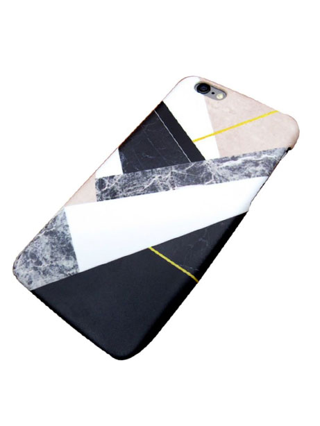 marble geometric iphone 7 cover