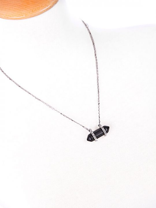 pave-black-druzy-stone-necklace