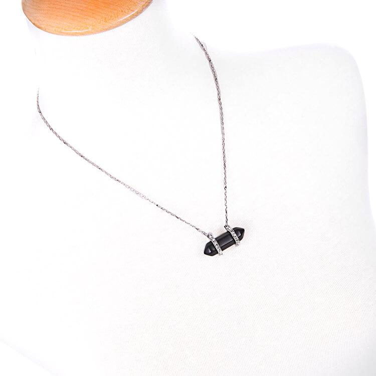 pave-black-druzy-stone-necklace