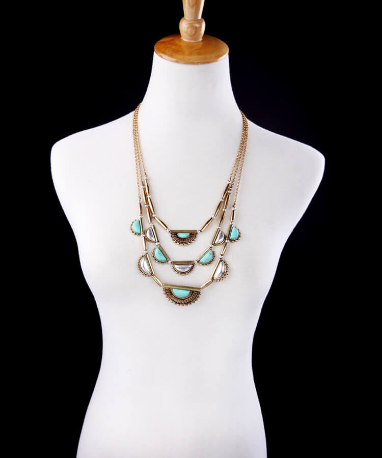 pearl-turquoise-3-chain-statement-necklace-2