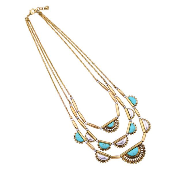 pearl-turquoise-3-chain-statement-necklace-4