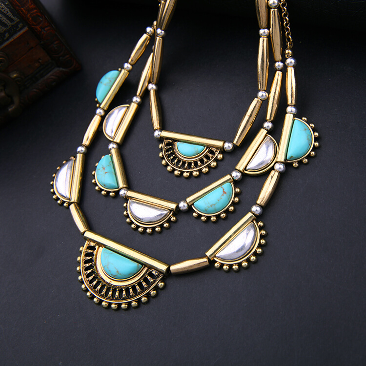 pearl-turquoise-3-chain-statement-necklace-8