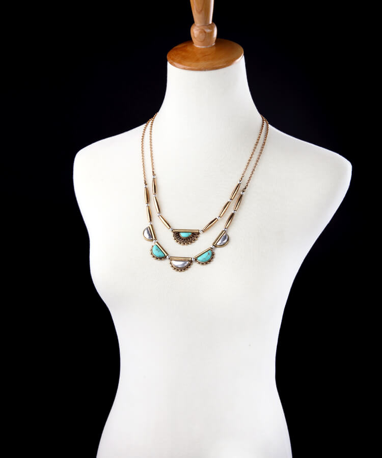 pearl-turquoise-3-chain-statement-necklace