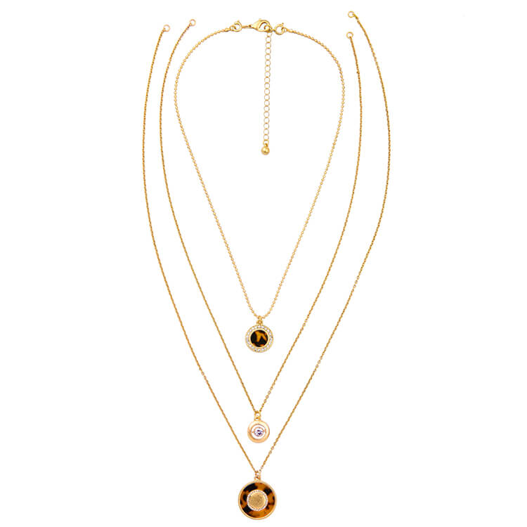 tortoise-circle-3-chain-necklace-4