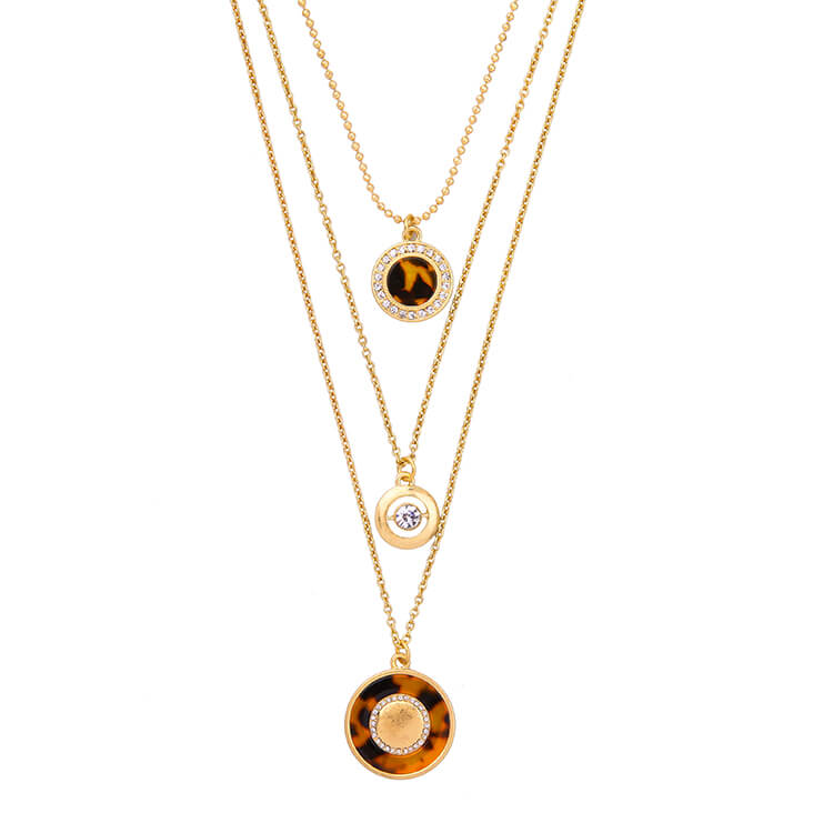 tortoise-circle-3-chain-necklace-5
