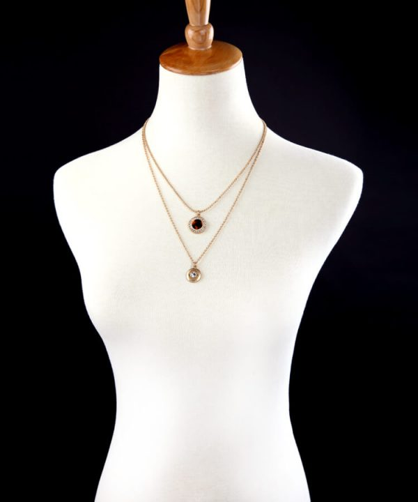 tortoise-circle-3-chain-necklace-6