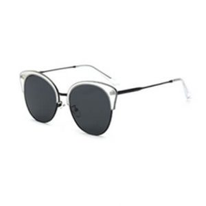 ultra light clear transparent sunglasses for her