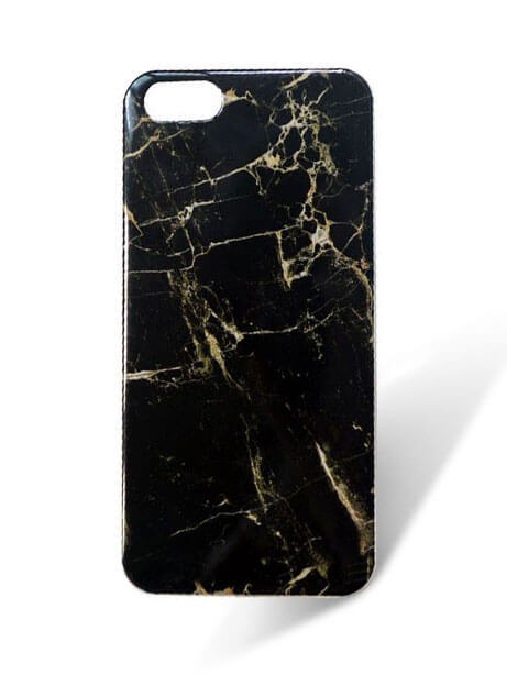 official photos 9b604 b8a8d Black Gold Marble iPhone 7 Case