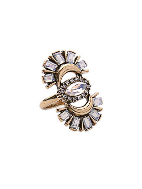 ibiza stone statement ring