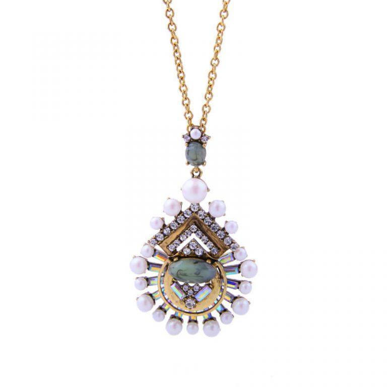 cloud pearl pendant necklace 2