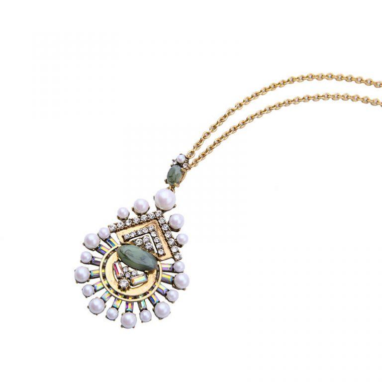 cloud pearl pendant necklace 3