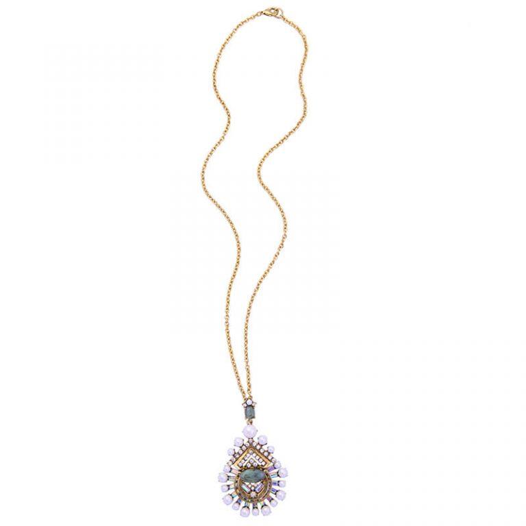 cloud pearl pendant necklace 5