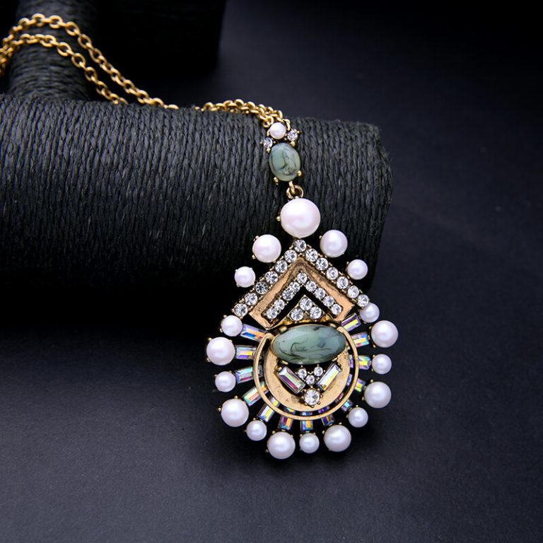 cloud pearl pendant necklace 6