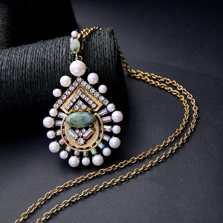 cloud pearl pendant necklace 8