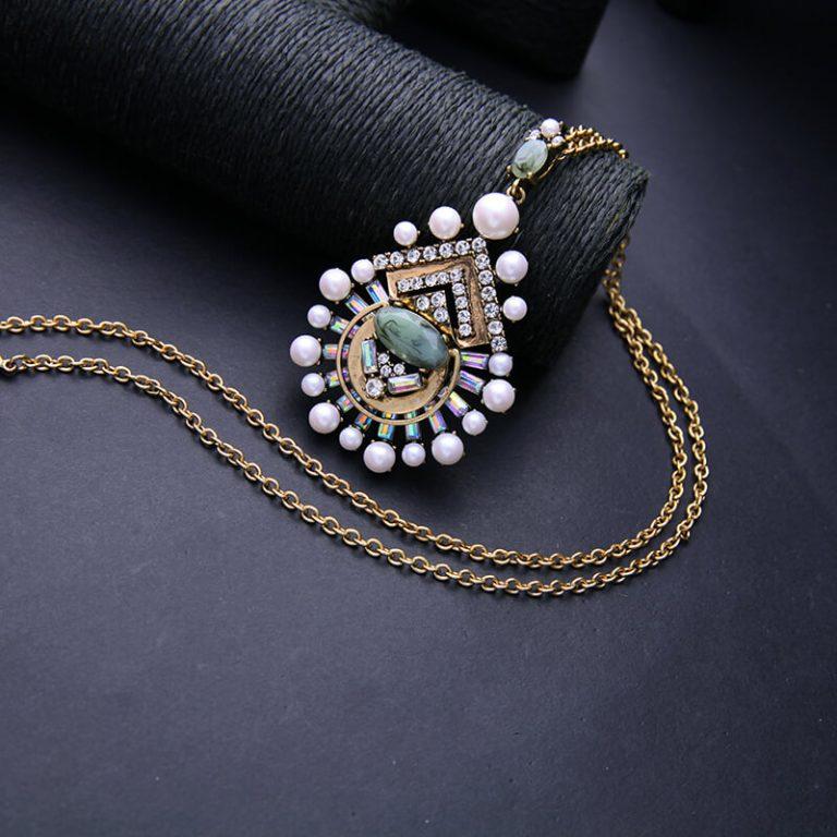 cloud pearl pendant necklace 9