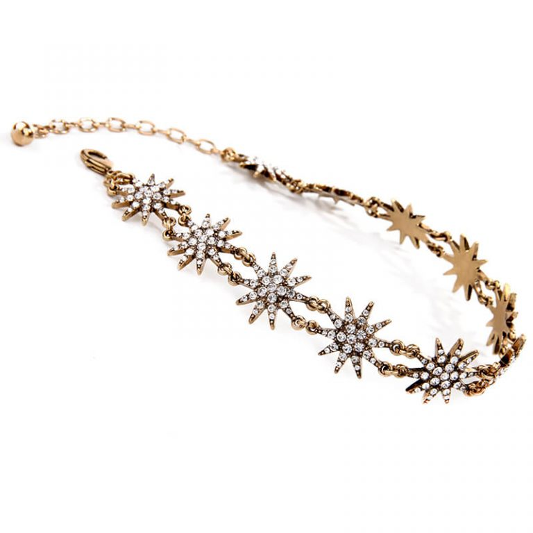 crystal star choker necklace 2