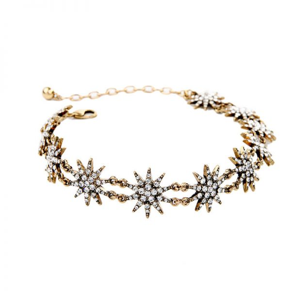 crystal star choker necklace 4