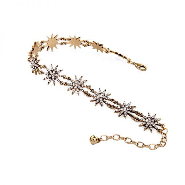 crystal star choker necklace 5
