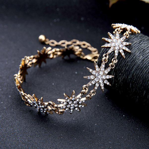 crystal star choker necklace 7