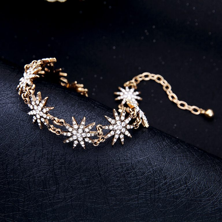 crystal star choker necklace 8