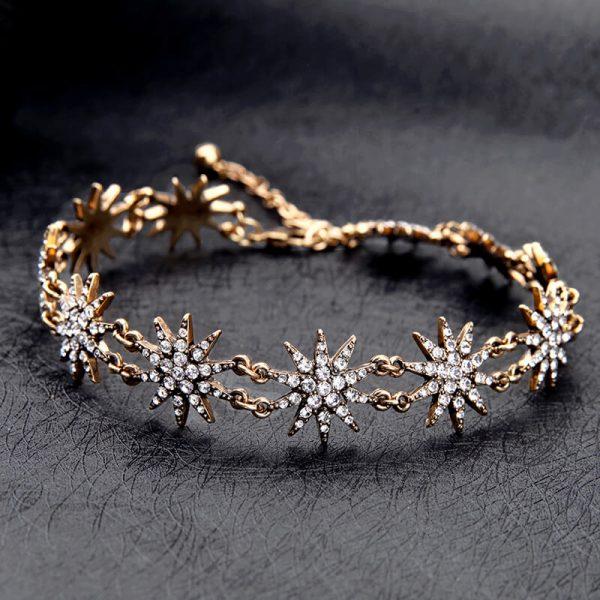 crystal star choker necklace 9