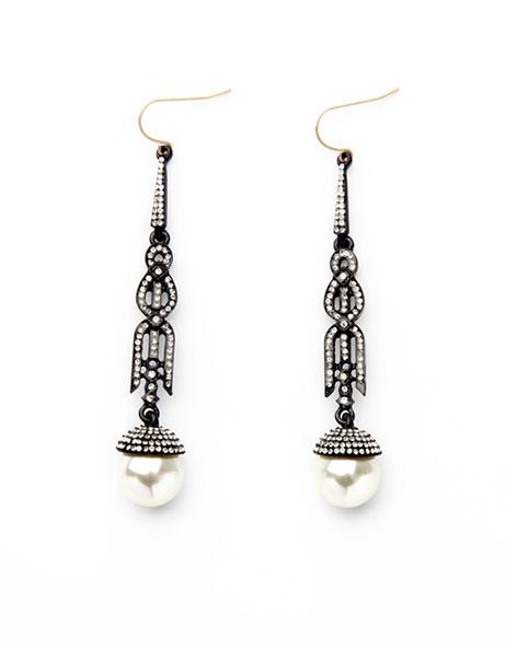 Pearl-Marcasite-Stone-Statement-Earrings