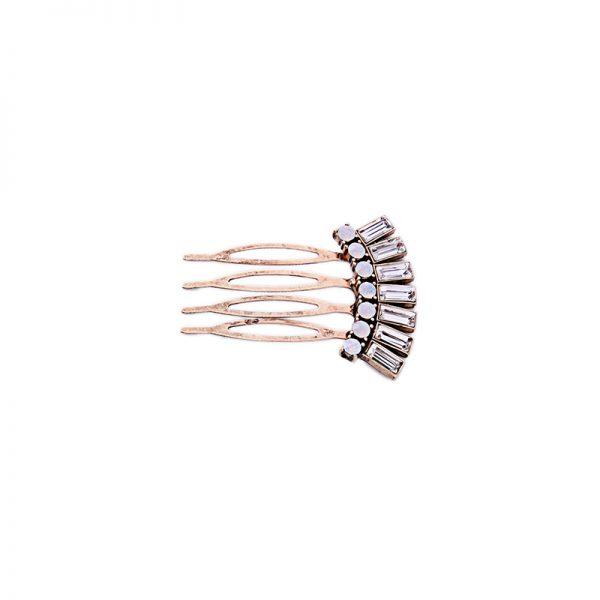 stone hair clip