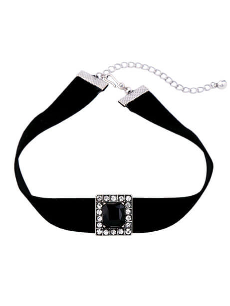 black-crystal-choker-necklace