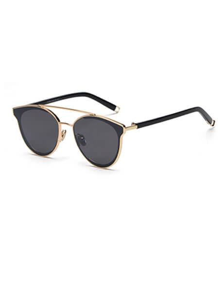 Black-Gold-Retro-Rim-Sunglasses-1 (1)