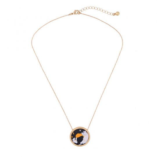 Multicolor Round Resin Necklace 6